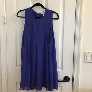 BCBG Chiffon Babydoll Dress